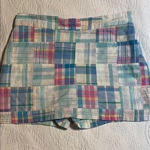 Boston proper size 8 patchwork skort.